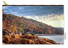 Carry-all Pouch featuring the photograph Cherokee Lake Color II by Douglas Stucky