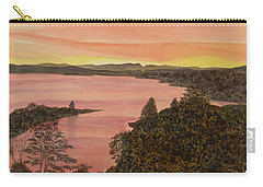 Cherokee Lake - Golden Glow Carry-all Pouch