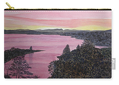 Cherokee Lake Sunset Carry-all Pouch
