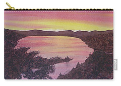 Cherokee Lake Sunset Number Seven Carry-all Pouch