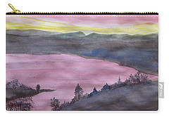 Cherokee Lake - Watercolor Sketch  Carry-all Pouch