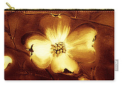 Cherokee Rose Dogwood - Single Glow Carry-all Pouch