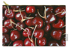 Cherries Carry-all Pouch by Annie Walczyk