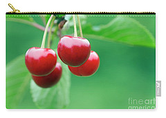 Cherries Carry-all Pouch by Michal Boubin
