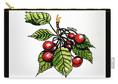 Cherries Carry-all Pouch by Terry Banderas