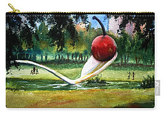 Cherry And Spoon Carry-all Pouch