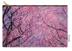 Carry-all Pouch featuring the painting Cherry Blast by Hailey E Herrera