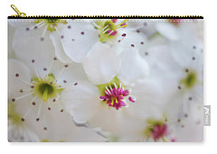 Carry-all Pouch featuring the photograph Cherry Blooms by Darren White