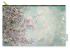 Carry-all Pouch featuring the photograph Cherry Blossom Dreams by Linda Lees