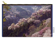 Cherry Blossom Season In Japan Carry-all Pouch by Navin Joshi