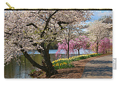Cherry Blossom Trees Of Branch Brook Park 17 Carry-all Pouch