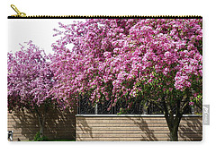 Cherry Blossoms 1 Carry-all Pouch by Will Borden