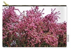 Cherry Blossoms 2 Carry-all Pouch by Will Borden