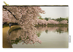 Cherry Blossoms Along The Tidal Basin 8x10 Carry-all Pouch