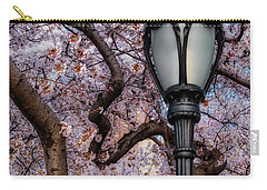 Carry-all Pouch featuring the photograph Cherry Blossoms At Central Park Nyc by Susan Candelario
