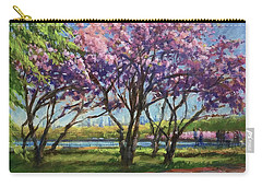 Cherry Blossoms, Central Park Carry-all Pouch