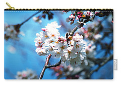 Cherry Blossoms In The Light Carry-all Pouch