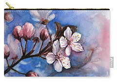 Cherry Blossom Carry-All Pouches