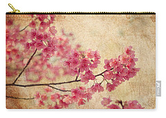 Cherry Blossoms Carry-All Pouches