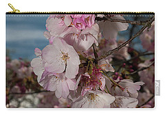 Cherry Blossoms Vertical Carry-all Pouch