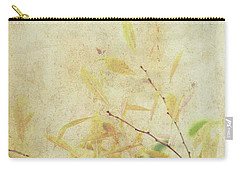 Cherry Branch On Rice Paper Carry-all Pouch