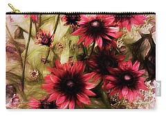 Cherry Brandy Carry-all Pouch