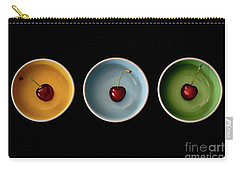 Cherry Color Block Experiment Carry-all Pouch