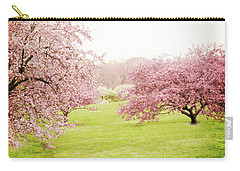 Carry-all Pouch featuring the photograph Cherry Confection by Jessica Jenney