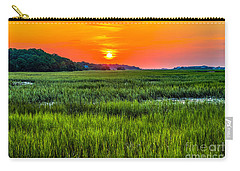 Cherry Grove Marsh Sunrise Carry-all Pouch