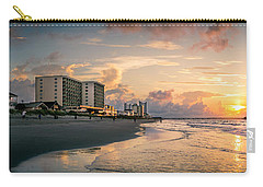 Cherry Grove Panoramic Sunrise Carry-all Pouch