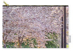 Cherry Morning Path Carry-all Pouch by David Cote