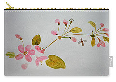Cherry Pink Carry-all Pouch