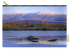 Cherry Pond Reflections Panorama Carry-all Pouch