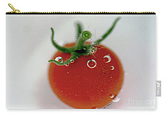 Cherry Tomato In Water Carry-all Pouch by Yumi Johnson