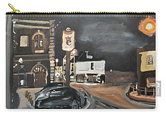 Chertsey At Night 1 Carry-all Pouch by Carole Robins