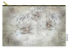 Cherubs In Bethesda Carry-all Pouch by Evie Carrier