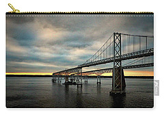 Chesapeake Bay Bridge At Twilight Carry-all Pouch