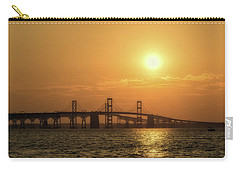 Chesapeake Bay Bridge Sunset I Carry-all Pouch