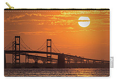Chesapeake Bay Bridge Sunset II Carry-all Pouch