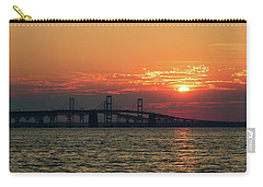 Chesapeake Bay Bridge Sunset 3 Carry-all Pouch
