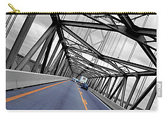 Carry-all Pouch featuring the photograph Chesapeake Bay Bridge by T Brian Jones