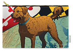 Chesapeake Bay Retriever Of Maryland  Carry-all Pouch