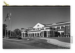 Carry-all Pouch featuring the photograph Chesterfield Virginia Juvenile And Domestic Courts by Melissa Messick