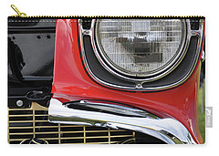 Carry-all Pouch featuring the photograph Chevy Bel Air by Glenn Gordon