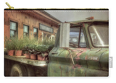 Carry-all Pouch featuring the photograph Chevy C 30 Pickup Truck - Colby Farm by Joann Vitali