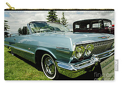 Carry-all Pouch featuring the photograph Chevy Classic by Nick Boren