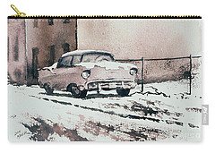 Chevy In Snow Carry-all Pouch