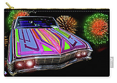 Carry-all Pouch featuring the photograph Chevy Night by Christopher Woods
