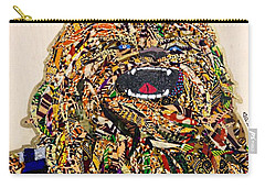 Carry-all Pouch featuring the tapestry - textile Chewbacca Star Wars Awakens Afrofuturist Collection by Apanaki Temitayo M