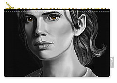 Chiaroscuro And A Beautiful Woman Carry-all Pouch